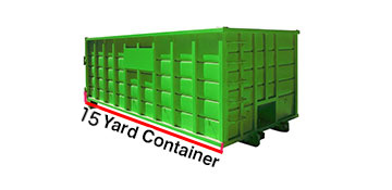 Alameda County 15 Yard Dumpster Rental