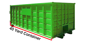 Ventura County 40 Yard Dumpster Rental