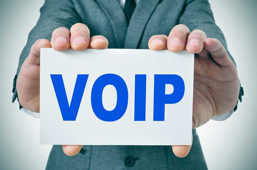 VOIP sign Voice over Internet Protocol