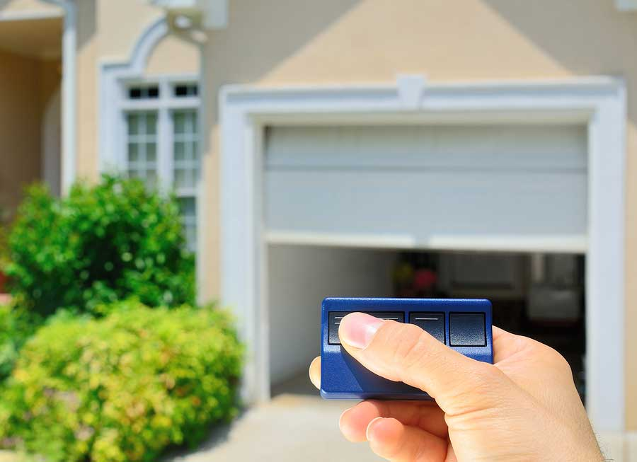 residential remote garage door opener