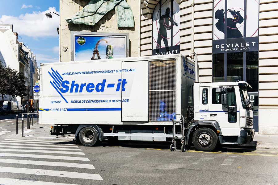 professional paper shredding company