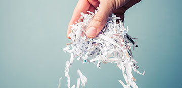 Marion County Regularly Scheduled off Site Paper Shredding