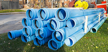 Onondaga County Water Main Installation