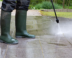Pressure Washing in St. Clair County