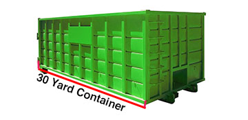 Cook County 30 Yard Dumpster Rental