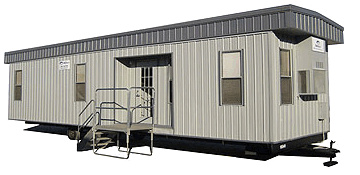 Victoria County 20 Ft. Mobile Office Trailer Rental