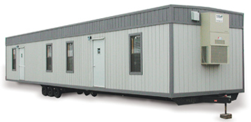 Victoria County 40 Ft. Office Trailer Rental