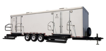 Kendall County Restroom Trailer Rental